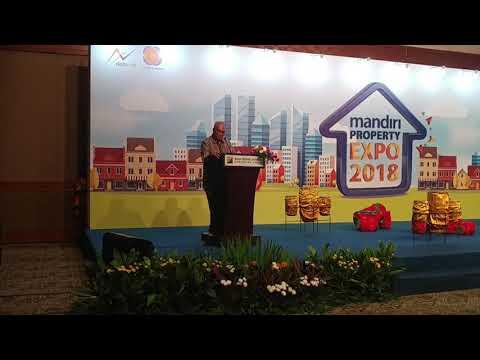 Pembukaan Mandiri Property Expo di Jakarta Convention Center, Jakarta, Sabtu (5/5/2018)_JUD