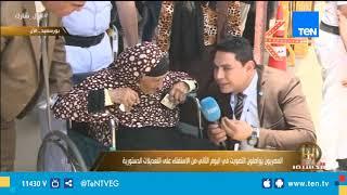 شاهد أكبر معمرة ببورسعيد: «من غير السيسي مننفعش ببصلة»