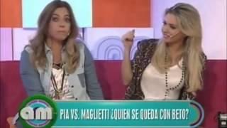 Alejandra Maglietti y Pía Shaw: su divertida pelea en vivo por el amor de Beto Casella