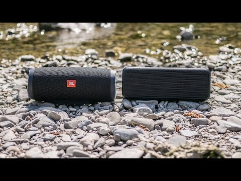 JBL Charge 3 vs Sony SRS-XB3 - outdoor test