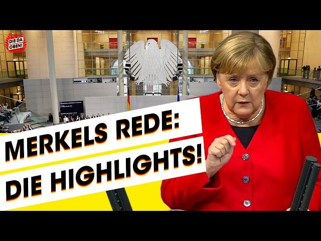 Best of Merkel: Generaldebatte über Meinungsfreiheit, Klima, NATO