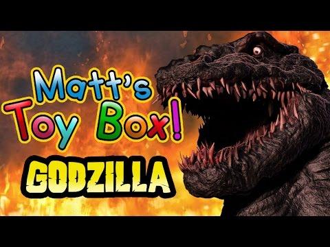 Matt's Toy Box - Godzilla