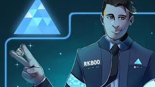 2 Sides (Detroit: Become Human) - Speedpaint #ConnorArmy