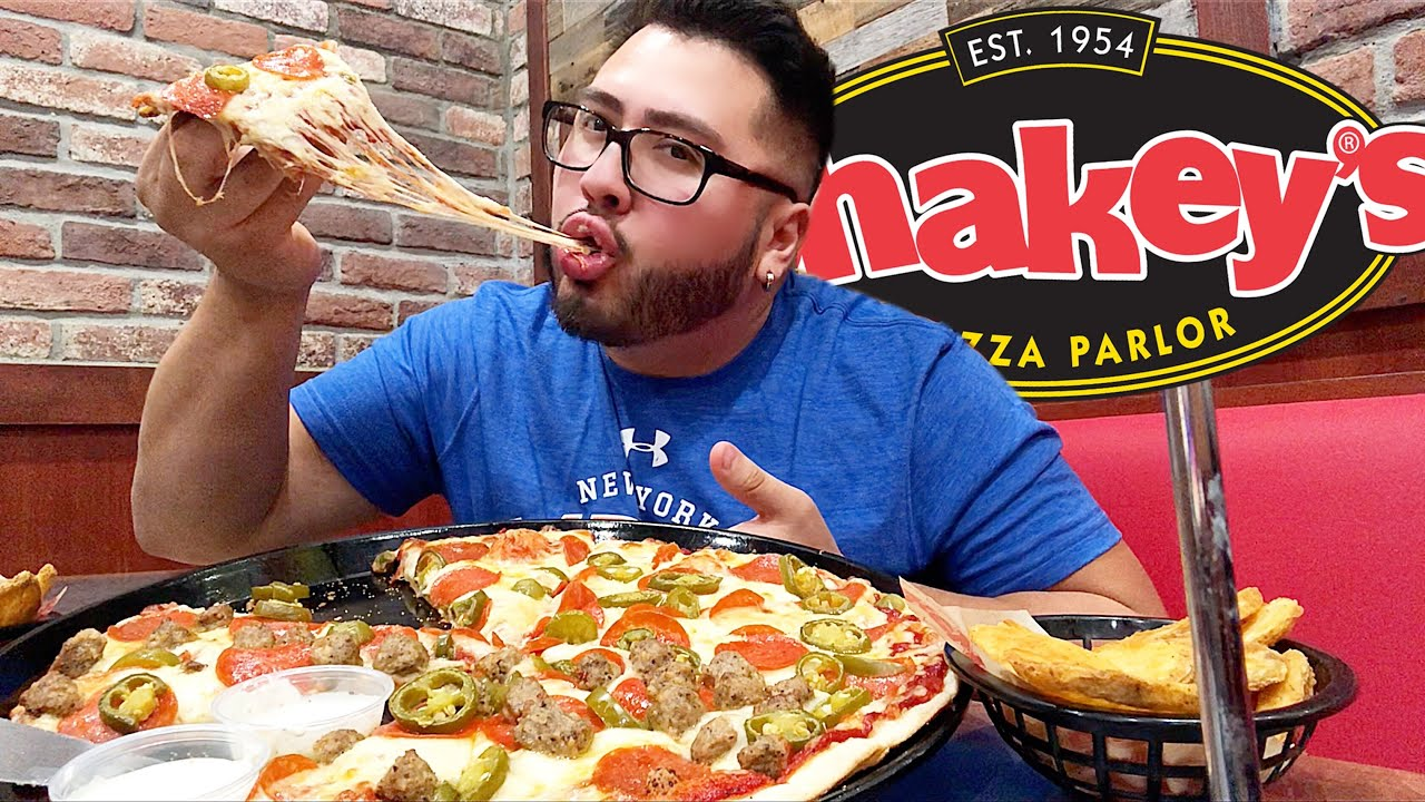 shakeys pizza parlor mukbang
