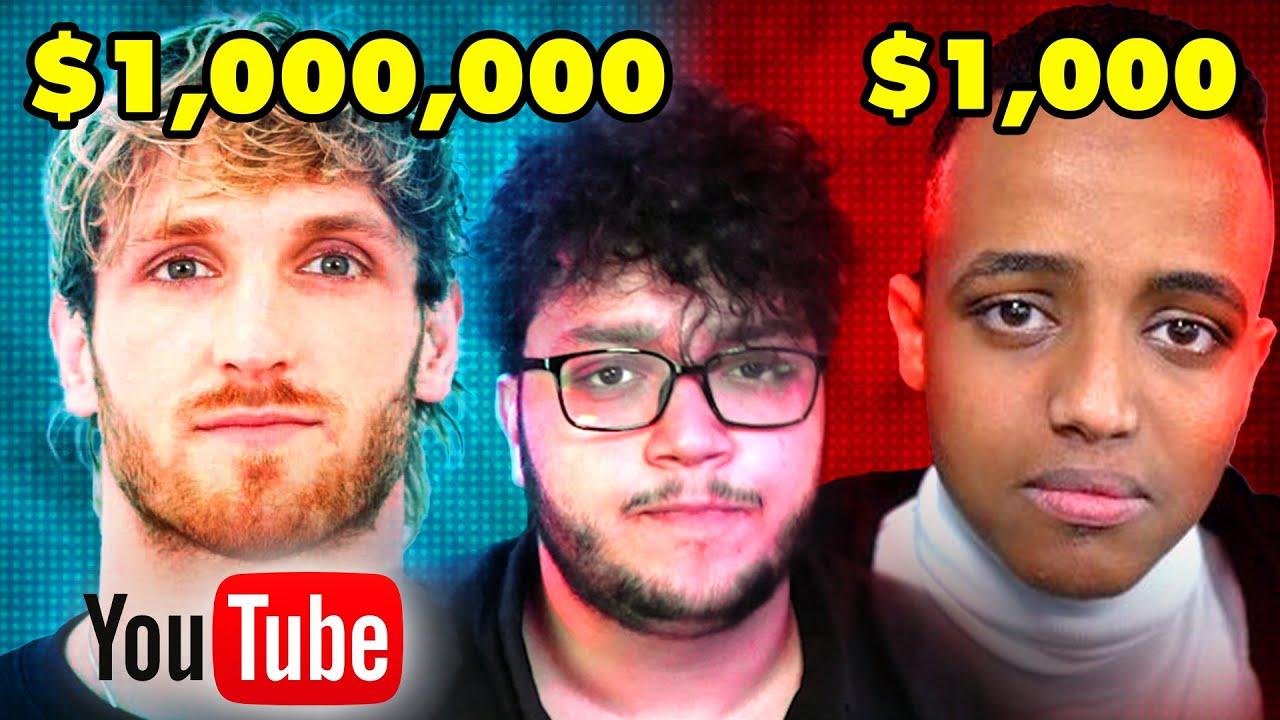 الفرق بين ارباح اليوتيوبرز العرب و الاجانب