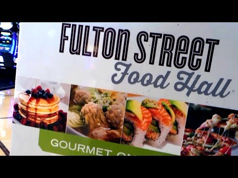 Harrah's Las Vegas Fulton Street Food Hall Tour