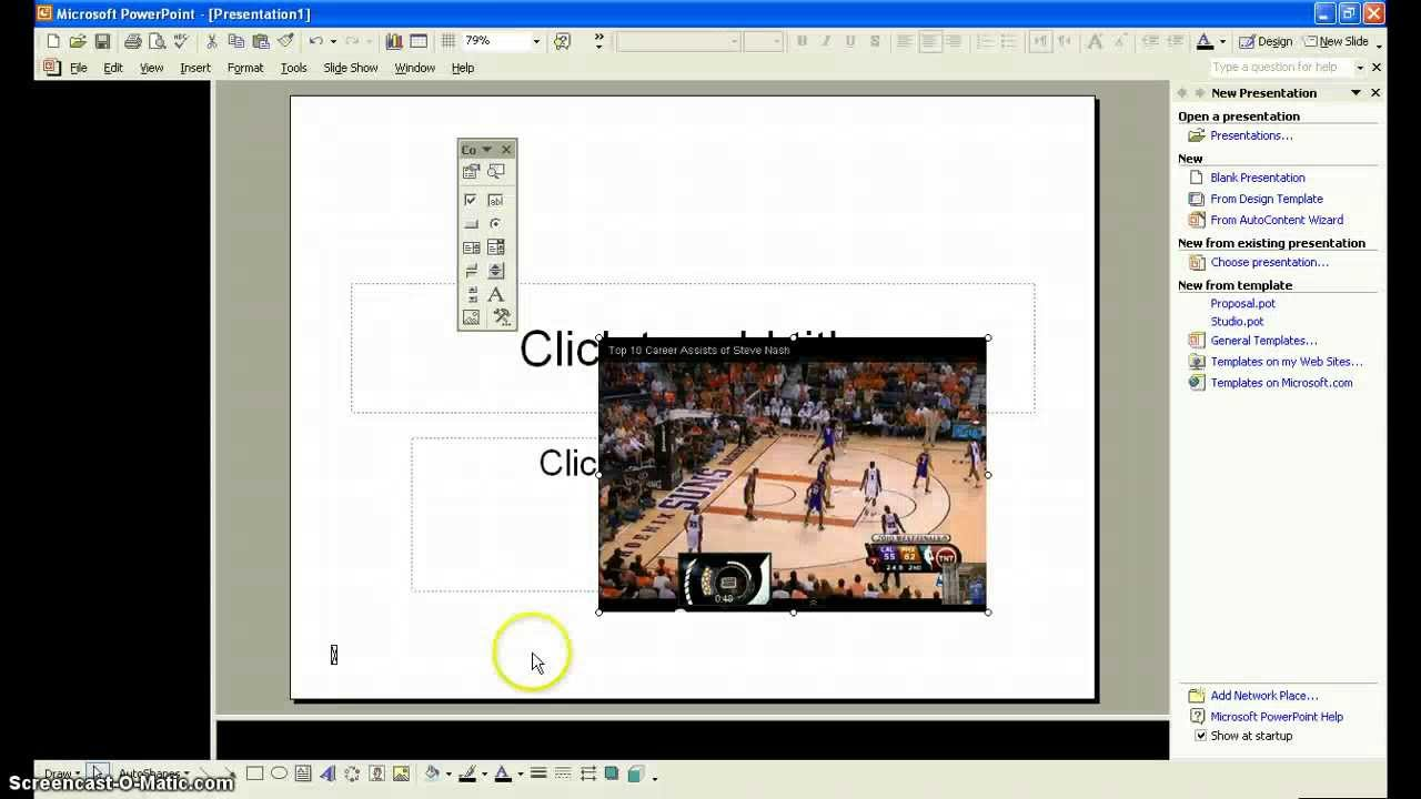 How to upload a video to powerpoint 2003 youtube how to upload a video to powerpoint 2003 toneelgroepblik Image collections