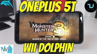 OnePlus 5T Monster Hunter Tri Wii Gameplay Android smartphone/Dolphin Emulator Wii game 30FPS