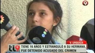 Tiene 16 años y estranguló a su hermana: ¿Fue una pelea por plata?