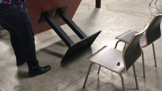Restaurant table chair tables chairs donuts shop Cafe Coffee