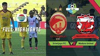 Sriwijaya FC (1) vs (2) Madura United - Full Highlights | Go-Jek Liga 1 Bersama Bukalapak
