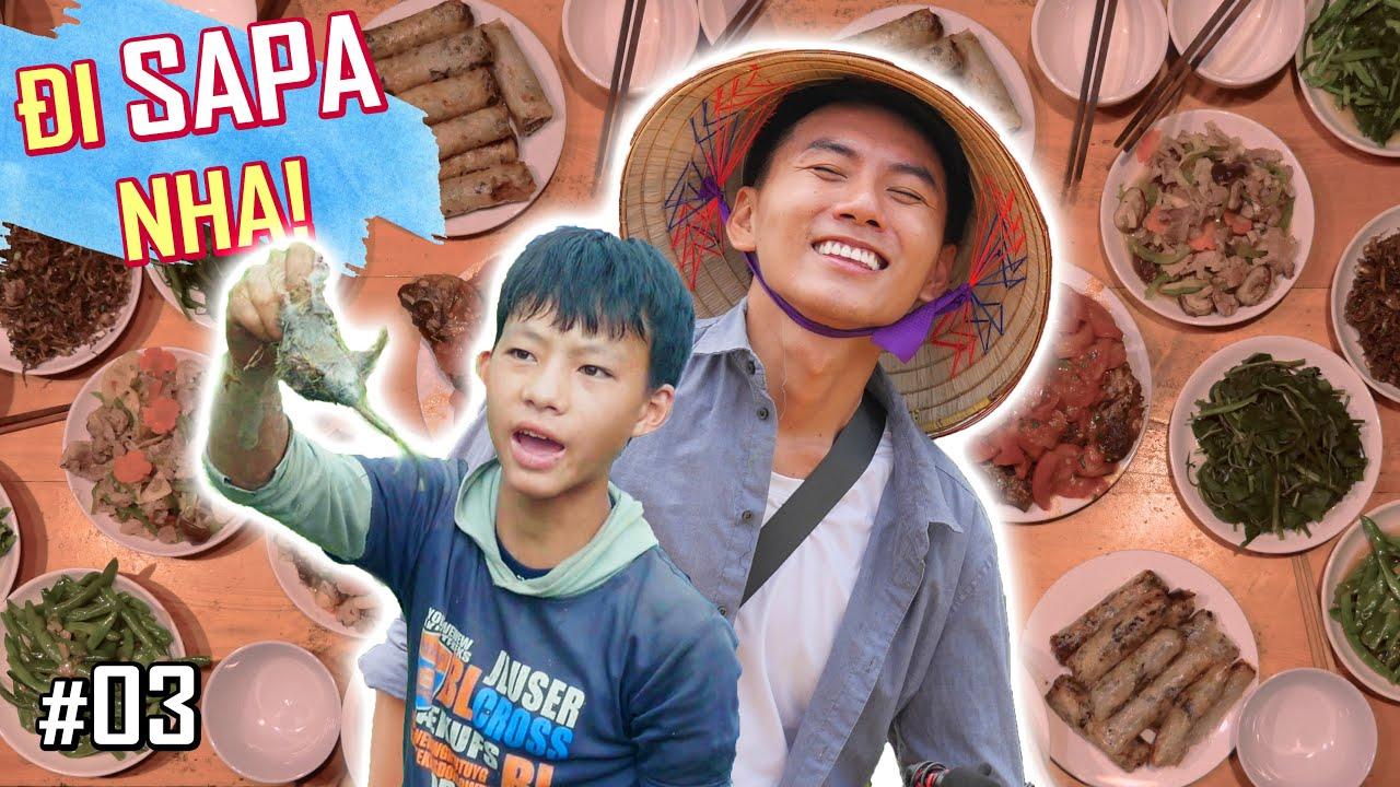 Ký sự du lịch ẩm thực Sapa #3: Đốt đồng, nấu ăn, bắt chuột.