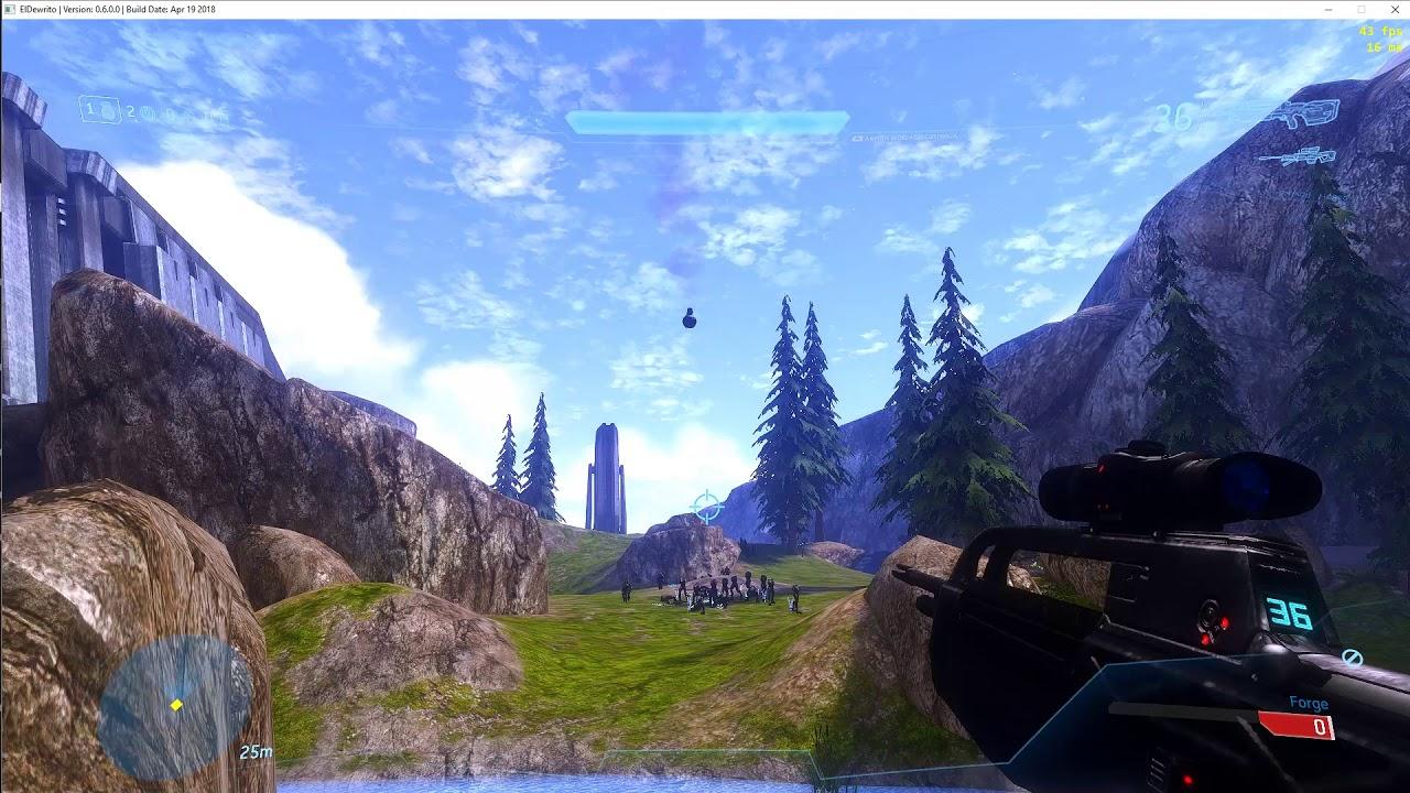 Halo Online - ElDewrito 0 6 | Elites Look Wack with no armour