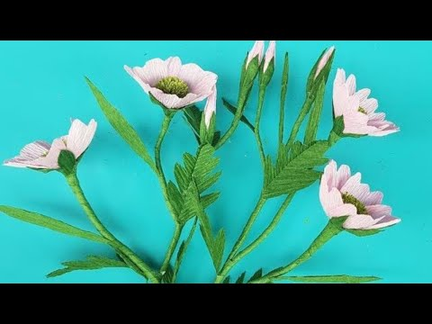 How to Make Paper Flowers   Crafty Paper Flowers   DIY Paper Flora Decorations Your Room
