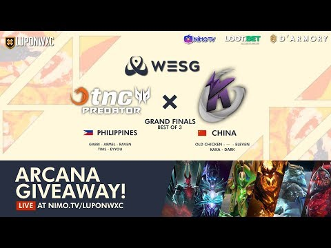Keen Gaming vs TnC - WESG 2018 - Game 1