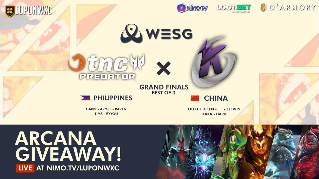 TNC Predator vs Keen Gaming Game 1 (BO3)   WESG 2018 Grand Finals