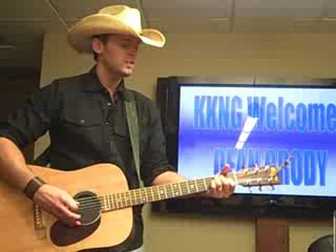 "Dean Brody ""Gravity"" at KKNG Radio in Oklahoma City"