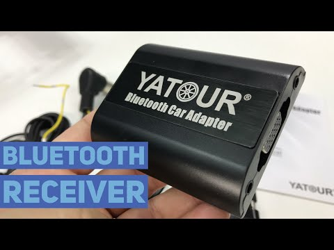 Yatour Bluetooth A2DP Handsfree Car Adapter for CD Changer Replacement Unboxing