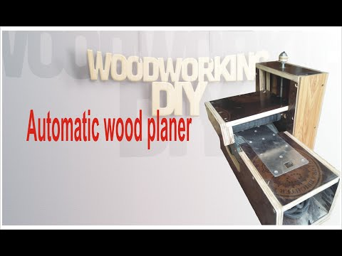 Automatic wood planer (part 1)