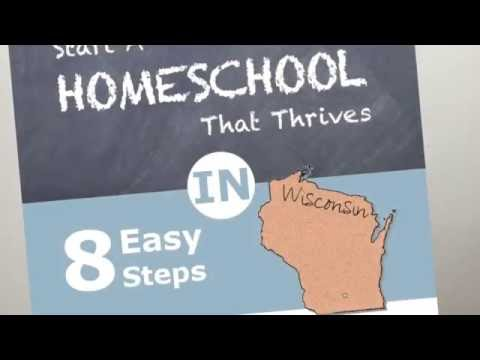 Homeschooling in Wisconsin and Wisconsin Homeschool Laws