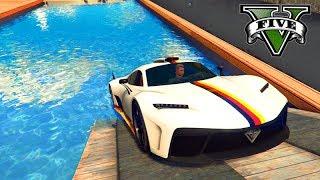 GTA V Online: PARKOUR com NOVO SUPER (KRIEGER de $3,000,000)!!!