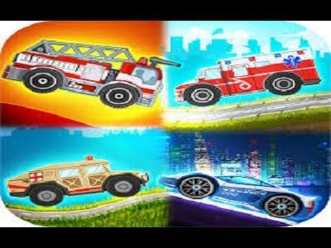 Мультфильмы для детей онлайн. Полицейская машина. Машина ...