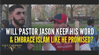 PASTOR JASON I AM READY TO BECOME A MUSLIM ? #ALI DAWAH