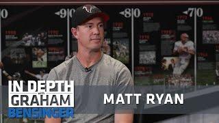 Matt Ryan on playing in NFL's best stadium