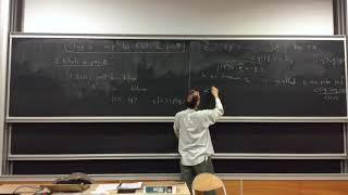 Mécanique quantique 15 (2017-2018)