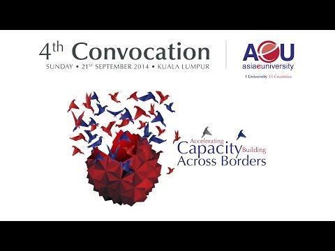 AeU 4th Convocation 2014 - Session 2A