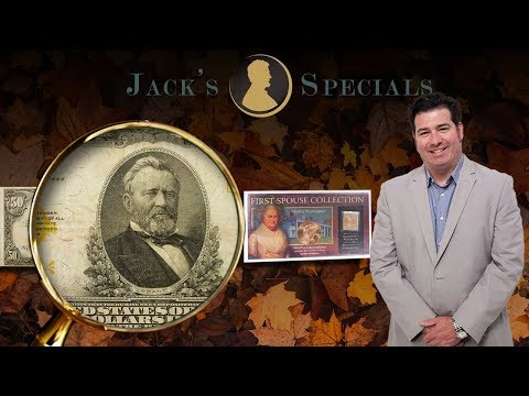 Jack's Specials: $50 1922 Gold Certificate and more!