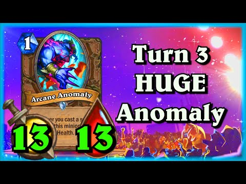 The Turn 3 HUGE Arcane Anomaly ~ One Night in Karazhan ~ Hearthstone Heroes of Warcraft