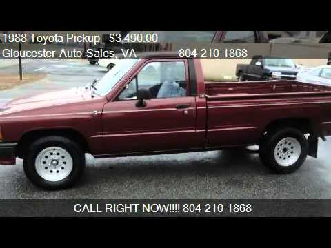 1988 Toyota Pickup 1 Ton for sale in White Marsh, VA 23183 ...