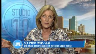 Sex Party Wins Seat In Victoria