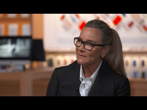 Apple exec Angela Ahrendts on collaborating with designer Jony Ive