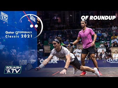 Squash: Qatar QTerminals Classic 2021 - Quarter Finals Roundup