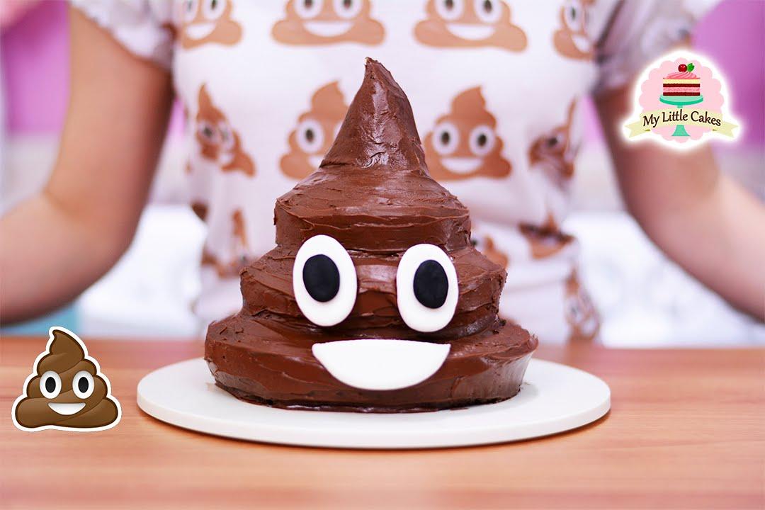 Emo Girl Live Wallpaper Poop Emoji Cake My Little Cakes Youtube