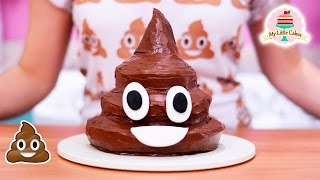 POOP EMOJI CAKE | MY LITTLE CAKES