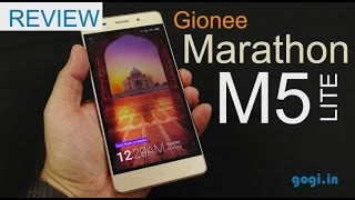 Gionee Marathon M5 Lite review, Benchmark, battery performance and more