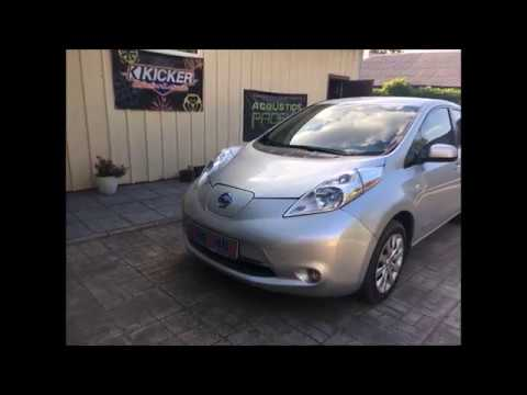 Nissan Leaf замена штатной магнитолы