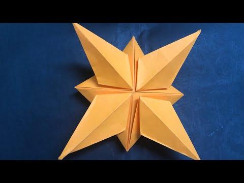 easy origami 3D star✨