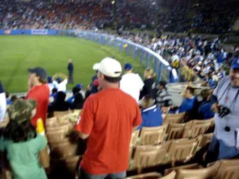 LA Coliseum - Red Sox vs Dodgers - Sweet Caroline
