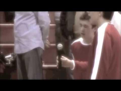 Tyler Joseph And Nick Thomas National Anthem Senior Night