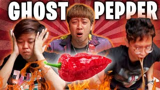 Ghost Pepper Challenge - Mad Libs Edition