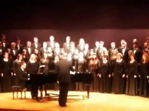 Placido e il mar by Mozart - MSU Chorus