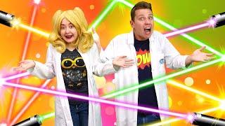 Наука - весело для Блондинки! Лайфхаки для школы и опыты с водой. Уроки физики про преломление света