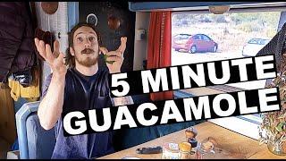 SUPER EASY GUACAMOLE RECIPE  VAN LIFE RECIPE
