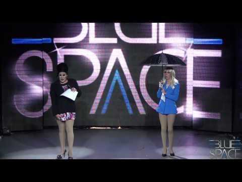 Blue Space Oficial - Stefani Di Bourbon e Valenttini Drag - 20/12/2014