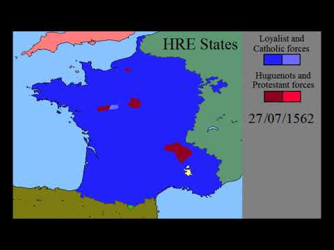 First French War of Religion: Every Day