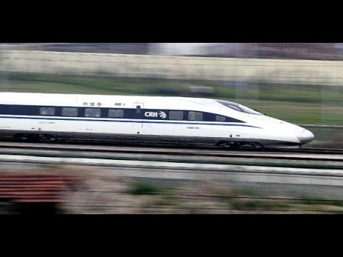 LIVE: Firm enough to stand a coin! China's high-speed trains are fast and stable